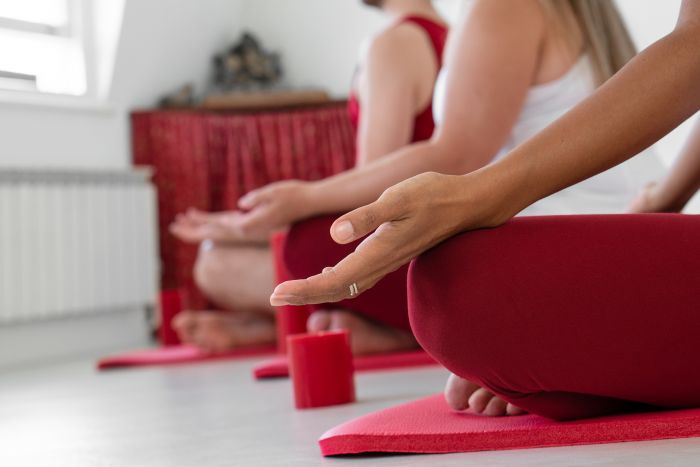 Seated-trio-mudra
