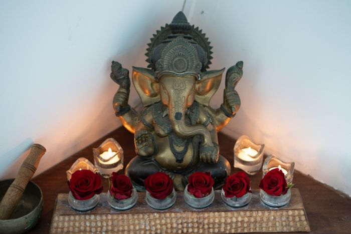 Ganesha-candles